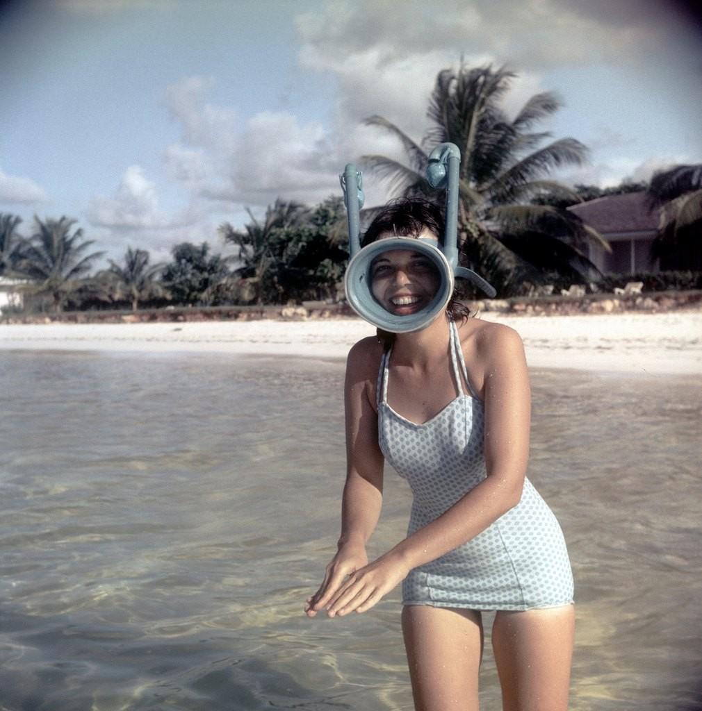 Vintage snorkel Mask
